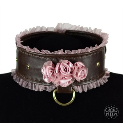 1920s Romance BDSM Submissive Collar