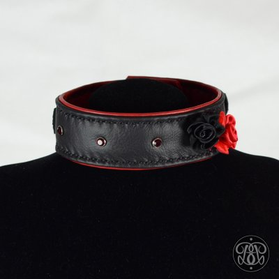 Flamenco BDSM Submissive Collar