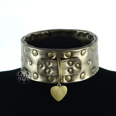 Gold Rush BDSM Collar