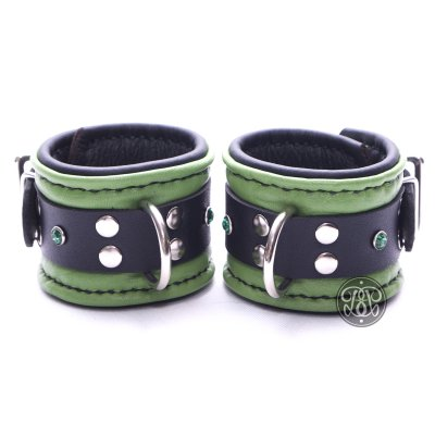 Green Machine BDSM Cuffs
