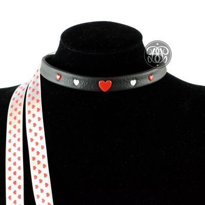 I Love You Submissive Kitten Collar