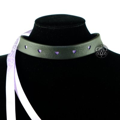 Purple Love Kitten Collar