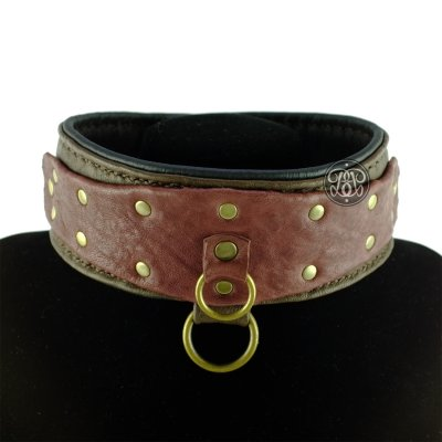 Male Leather Slave Collar