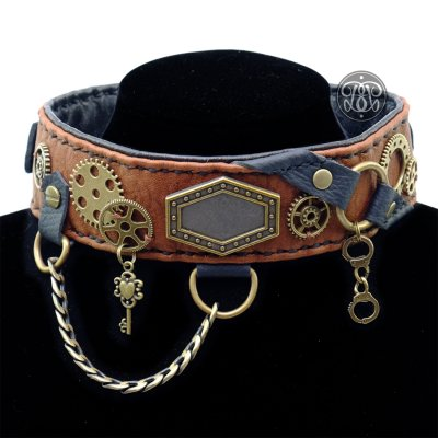Steampunk Princess BDSM Collar