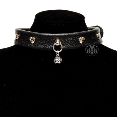 Bell Heart Submissive Collar