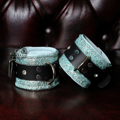 Mermaid Scales Bondage Cuffs