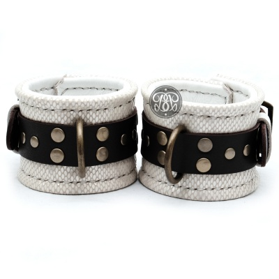 Snow Snake Submissive Cuffs