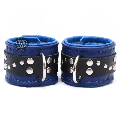 Too Blue Submissive Cuffs